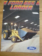 FORD 655 LOADER TRACTOR  Brochure jm