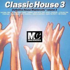 Classic House Mastercuts Vol. 3 CD Mr Fingers Phortune Rickster Hotmix 5 Trax