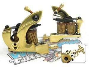 Damascus Series THUNDER (SHADER) 10-Wrap Short Coil Tattoo Machine Steel Supply