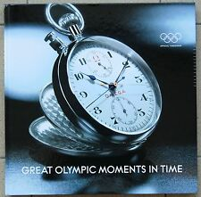 LIBRO OMEGA:  GREAT OLYMPIC MOMENTS IN TIME con molte foto Olimpiadi 1932-2006