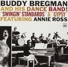 BUDDY BREGMAN & HIS DANCE BAND: SWINGIN' STANDARDS & GYPSY, FEAT. ANNIE ROSS