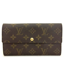 Louis Vuitton Monogram Portefeiulle Sarah Long Bifold Wallet /A0435