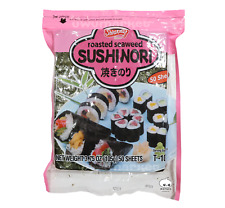 Shirakiku Sushi Nori Seaweed for Sushi - 50 Sheets US SELLER FAST SHIP