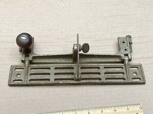 Vintage Stanley 386 Jointer Fence - For Parts Or Repair