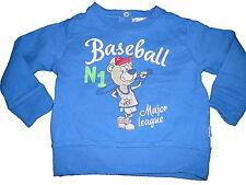 Chicco hübsches Sweatshirt / Pullover Gr. 74 / 80 blau !!