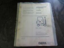 Clark Gcx230 Forklift Parts Manual 2745333