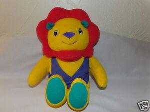 """Sweet HTF 12"""" EDEN Plush Primary LION TerryCloth Best Friend (*67)"""