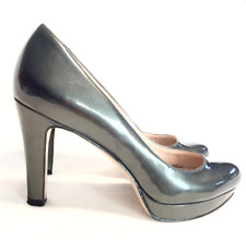Nine West ladies heels pumps patent leather classic size 5.5 great condition
