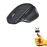Ratón Inalámbrico Logitech MX Master 2S Bluetooth PC/Mac/i Pad OS Flounder Gris