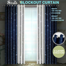 Polyester Stars Window Curtains