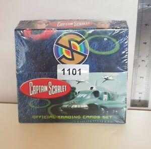Captain Scarlet Trading Card Sealed Hobby Box 24 Packs (Unstoppable, 2015)