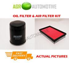 PETROL SERVICE KIT OIL AIR FILTER FOR NISSAN PRIMERA 1.8 116 BHP 2002-07