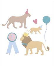 Sizzix Thinlits Die Set - Party Cats - 11 Dies -  Sophie Guilar - 663364 - New