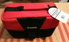 Canon EOS Shoulder Bag / Case 100ES 9320A023 for SLR Camera & Lenses (Red)