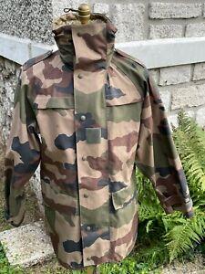 Veste Pluie Militaire T.O.E Camouflage CE Surplus Armée Soldat