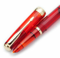 Wing Sung 618 Toso Piston Fountain Pen(Transparent) F Nib