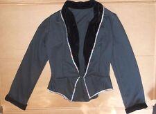 NWOT Wolff Fording Dance Costume Velvet Trimmed Jacket Ladies Small adult