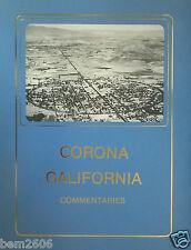 RARE CORONA CALIFORNIA COMMENTARIES 1st Edition  1986