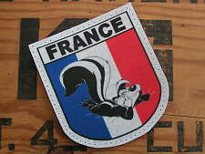 "Snake Patch FRANCE OPEX "" PUTOIS "" french bashing PATRIOTE - Humour SCRATCH"
