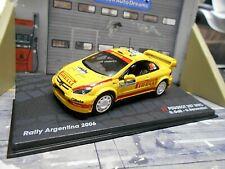 PEUGEOT 307 WRC Rallye Argentina 2006 #25 Galli Pirelli IXO Altaya S-Preis 1:43