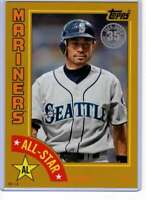 Ichiro 2019 Topps 1984 Topps All-Stars Oversize 5x7 Gold #84AS-I /10 Mariners