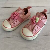 CONVERSE Pink Toddler Girls Shoes Sneakers 6