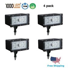 1000LED 70W LED Flood Light 4 PACK Waterproof Knuckle Lighting Daylight 5000K