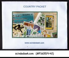 NAURU - SELECTED STAMPS - 40V DIFFERENT MINT NH