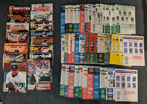 Lot 58 1998-2003 Beckett Baseball Card Price Guide Magazines Griffey,Jeter,Etc
