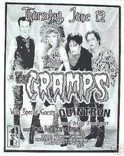 THE CRAMPS / MILLIONAIRES 2003 SAN DIEGO CONCERT TOUR POSTER - Punk Rock Music