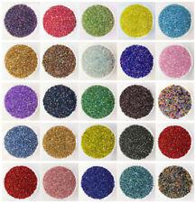NEW DIY Jewelry Making 2x2mm 1000pcs Multicolour Czech Glass Tube Bugle Beads