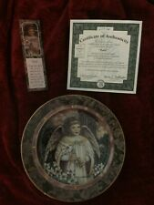 """Faith"" Collector Plate by Donna Richardson from ""Garden of Innocence"" Series"