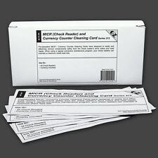 MICR / Check Reader / Currency Counter Cleaning Cards (25 Cards -  K2-MCRB25)