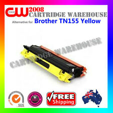 1 X TN155 Y Toner Cartridge for Brother DCP-9042CD MFC-9450CDN MFC-9840CDW