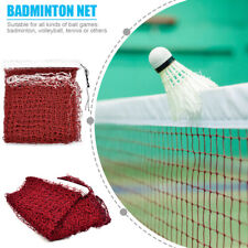 Professional Standard Outdoor Sport Braided Badminton Net Volleyball Mesh Train!