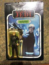 Vintage Star Wars Luke Skywalker Jedi Knight Outfit Carded Figure (Kenner) RARE
