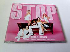 "SPICE GIRLS ""STOP"" CD SINGLE 4 TRACKS"