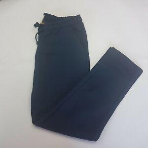 Kangaroo Poo Men's Open Hem Fleece Joggers Black Size XL A0201