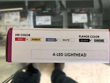 Brookings Industries 4-LED Lighthead Red/Blue