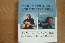 Merle Haggard  - It's Not Love (But It's Not Bad) / If We Make It Through D (CD)