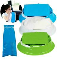 1000ml Disposable Vomit Bag With Rubber Band Pregnant Emesis Woman Bag A6J8