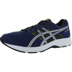 Asics Mens GEL-Contend 5 Blue Knit Running Shoes 12 Extra Wide (4E) BHFO 0259