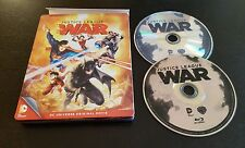 Justice League: War (Blu-Ray & DVD) Steelbook Edition DC Universe Original Movie