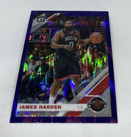 2019-20 Donruss Optic James Harden Purple Shock Prizm #68 Houston Rockets