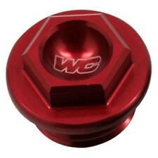 Works Connection Billet Aluminum Red Oil Fill Plug KTM 250 300 380 Husqvarna