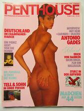 Penthouse (D) 12/1985, Susanne Phillip, INXS, Serena Goldini, Stallone Sylvester