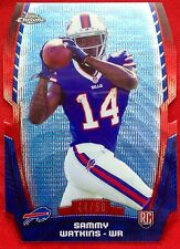 2014 Topps Chrome Mini Diecut Blue Refractor Sammy Watkins /50