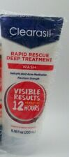 Clearasil Rapid Rescue Deep Treatment Wash  6.78 fl oz. Exp 06/2022