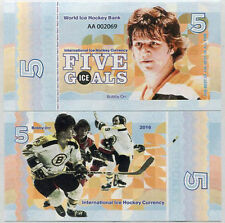 Ice Hockey 5 goals 2016 Bobby Orr - Fantasy Banknote UNC