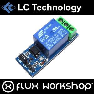 5pcs LC Technology 5V Relay SRD-05VDC-SL-C 250V AC DC Arduino Flux Workshop